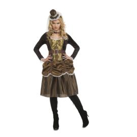 Steampunk jurk 1890