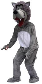 Wolven kostuum mascotte pro