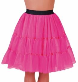 Petticoat kniehoogte pink