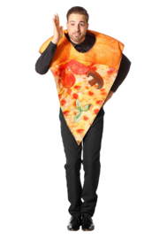 Pizza punt kostuum