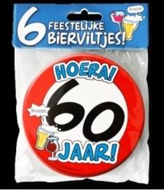 Fun Bierviltjes 60 jaar