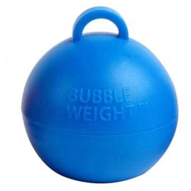 Ballongewicht bubble  blauw