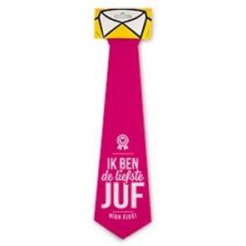 Fun stropdas liefste juf