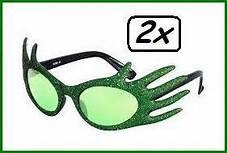 Bril Edna groen dames