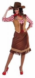 Cowgirl half lang