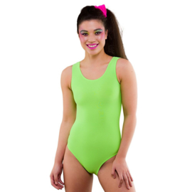 Body suit neon groen