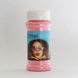100 gram glitter baby roze