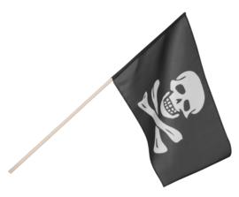 Stoffen Piraten zwaaivlag