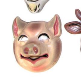 Masker varken - kind