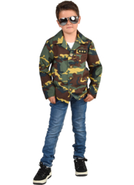 Leger jasje camouflage