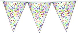 Vlaggenlijnen confetti