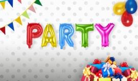 Folie ballon set Party