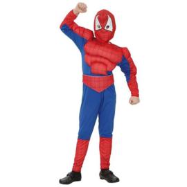 Spiderman gespierd kostuum