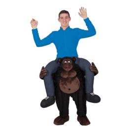 Door Gorilla gedragen kostuum