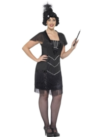 Curves flapper jurk
