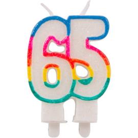 Glitterkaarsje 65 jaar