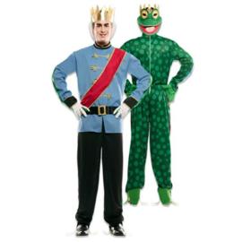 Kostuum double fun prins kikker