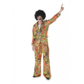 Hippie peace kostuum