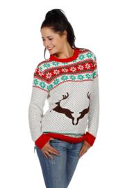 kerst trui witte rendieren