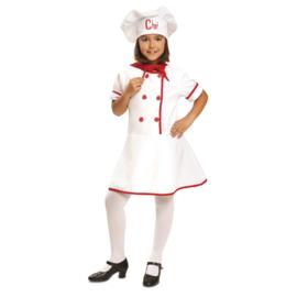 Kokkin jurkje meisje