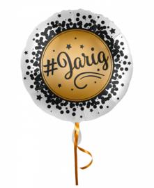Folie ballon #jarig | 43cm