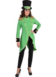 Slipjas dames groen | St. Patricks day slipjas