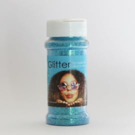 100 gram glitter baby blauw