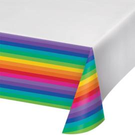 Regenboog tafelkleed