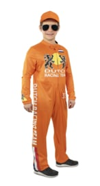 Formule 1 overall oranje Max kinderen | Limited edition