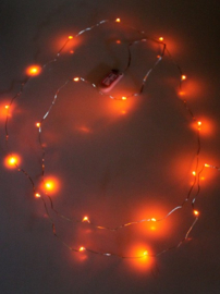 Ledverlichting snoer oranje 2 mtr