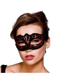 Verona oogmasker rood