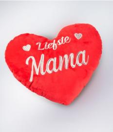 Hart kussen - liefste mama