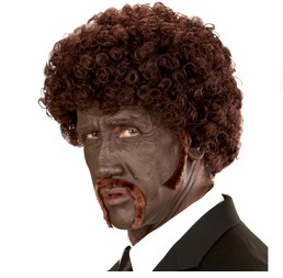 Pruik pulp fiction afro