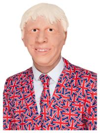 Boris Johnson masker latex | Prime Minister