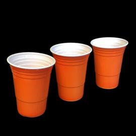 American orange cups