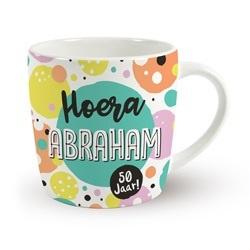 Verjaardags mok - Abraham | koffie beker