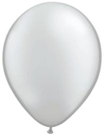 5 inch ballonnen silver