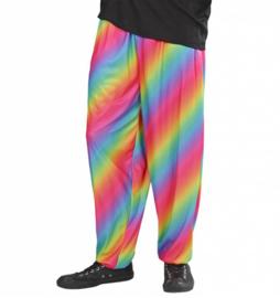 80's regenboog broek