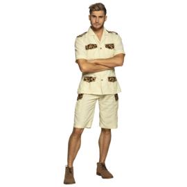 Safari heer kostuum | Freek V. kostuum