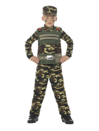 Soldaat Action kostuum