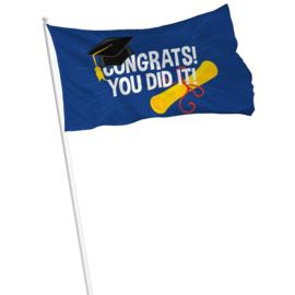 Vlag congrats you did it