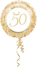 50 jaar folieballon excl.