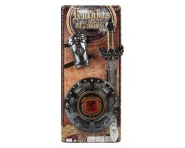 Warrior zwaard set luxe | 56x26