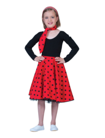 Rock 'n roll rok rood