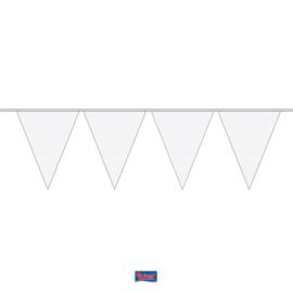 Vlaggenlijn wit deluxe XL