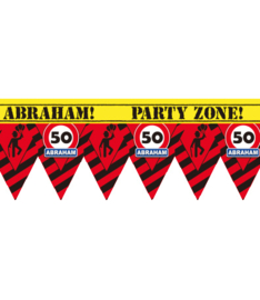 Markeerlint verkeersbord punt 50 jaar abraham
