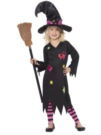 Vrolijk heksen jurkje