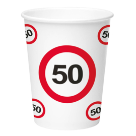 Bekertjes 50 jaar traffic sign