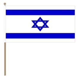 Zwaai vlaggetje Israel