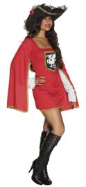 Musketiers jurkje lady